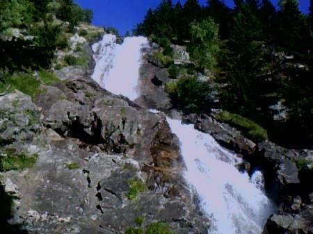 La cascade supérieure de la Fare (Vaujany)
