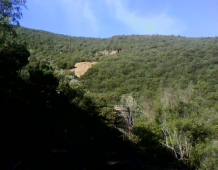 le site de la mine de fer des deux fours