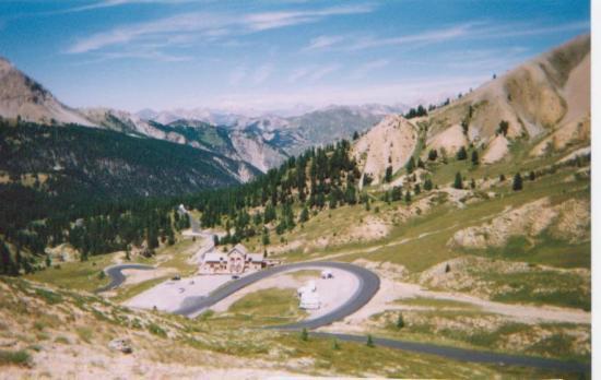 Col de l' Izoard côté Briançon(juillet 2003)