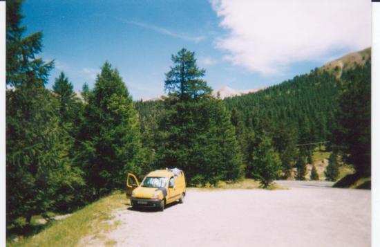 Bivouac dans le col de l' Izoard (juillet 2003)
