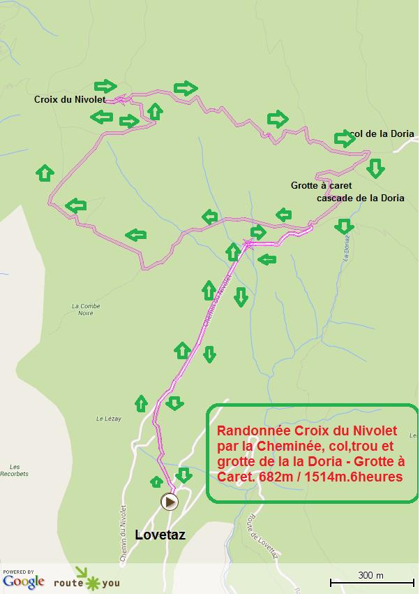 Randonnée Croix du Nivolet depuis La Lovetaz