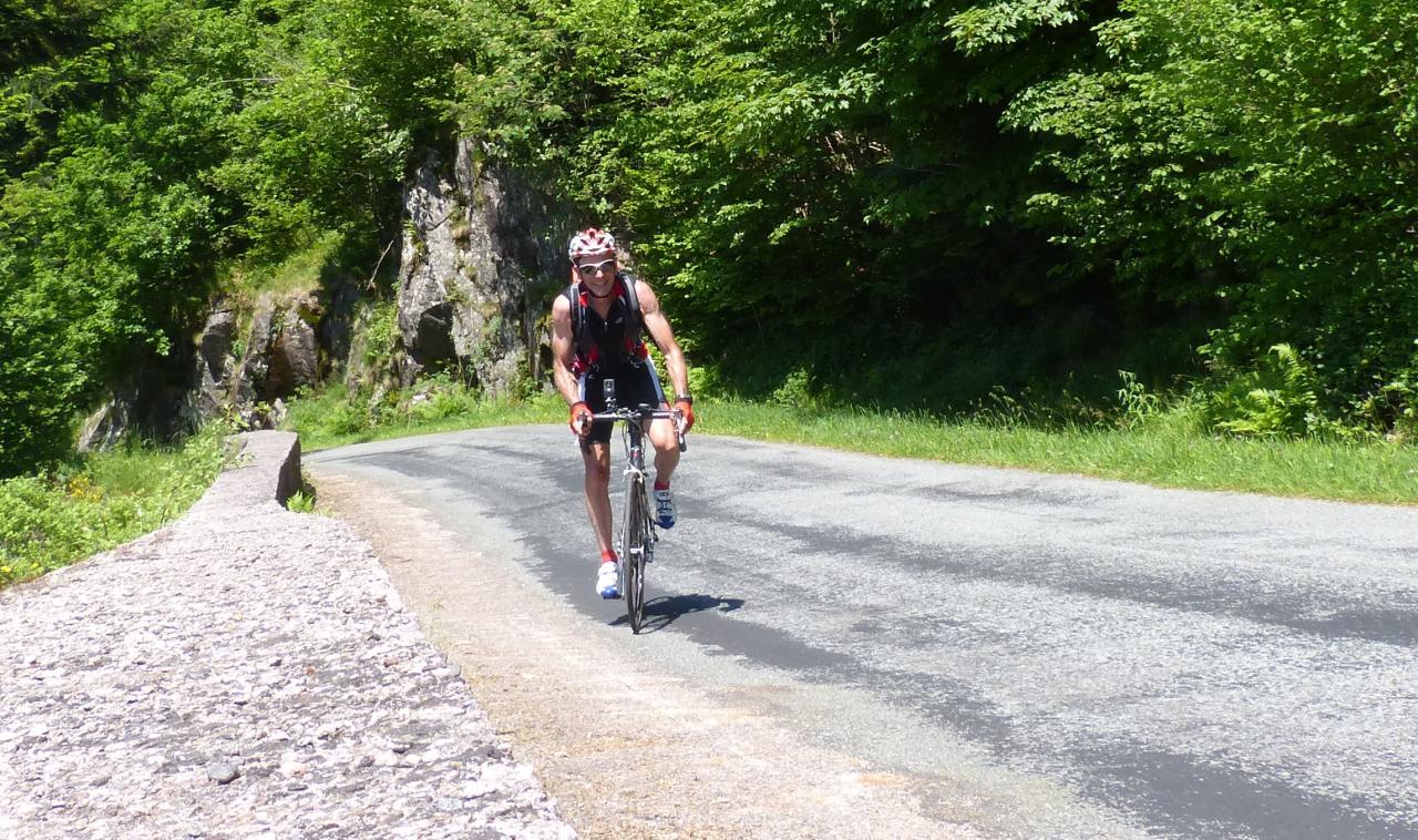 Circuit vélo Ballons de servance/Alsace/Planche des belles Filles