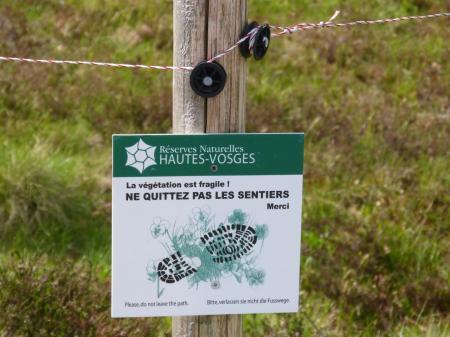 la protection du site naturel est organisée !