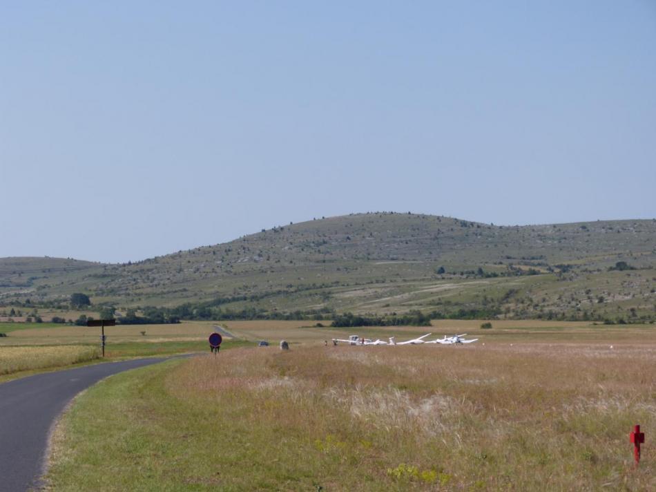 l' aérodrome de Florac