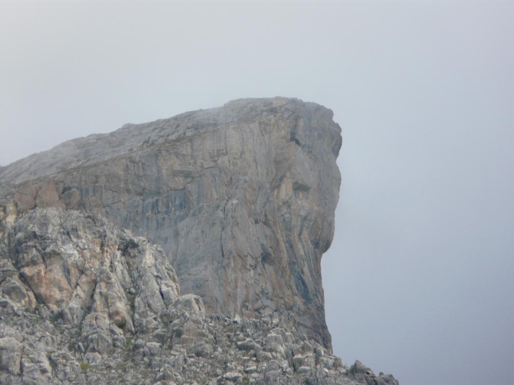 La Tour d' Août à Meyronnes, ascension courte mais très intense !