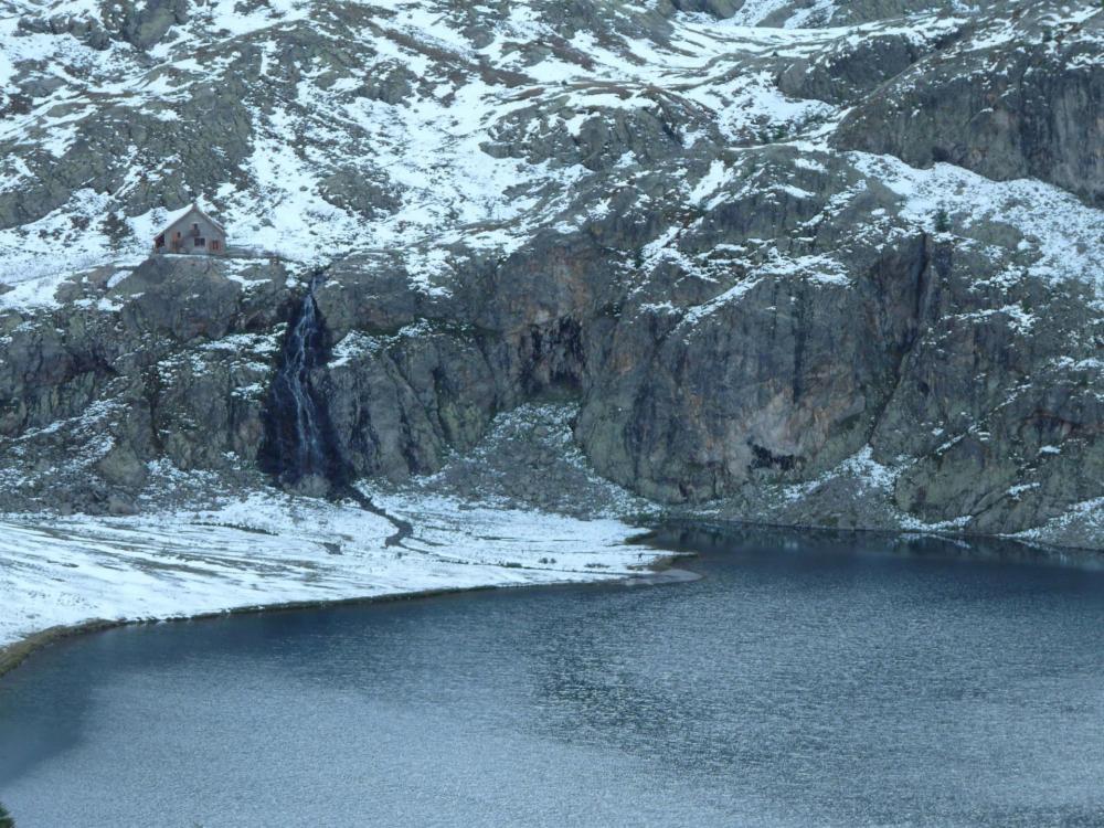 Le refuge des lacs des vens