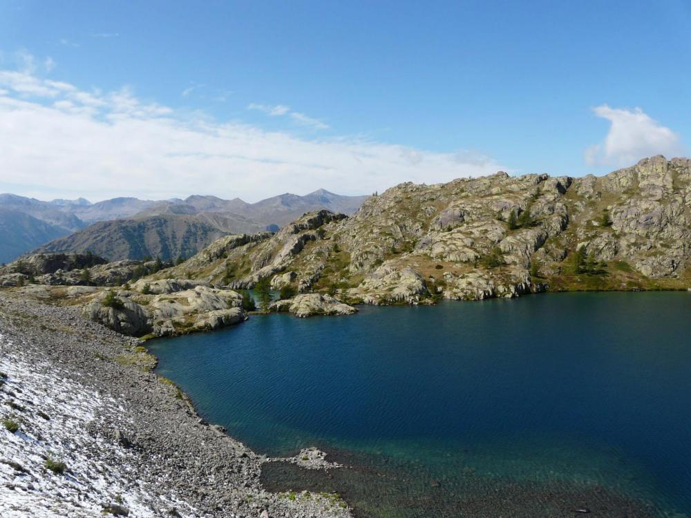 Ensuite les lacs s' enchaînent !