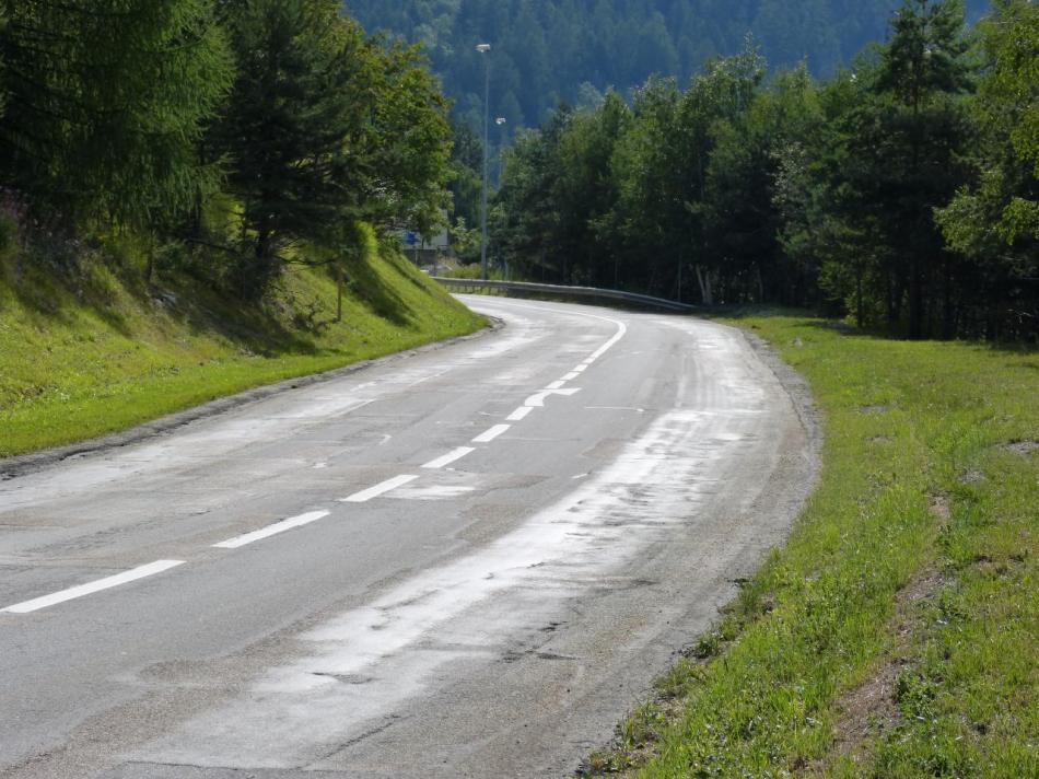 Montée dans les premiers kilomètres -Val Fréjus