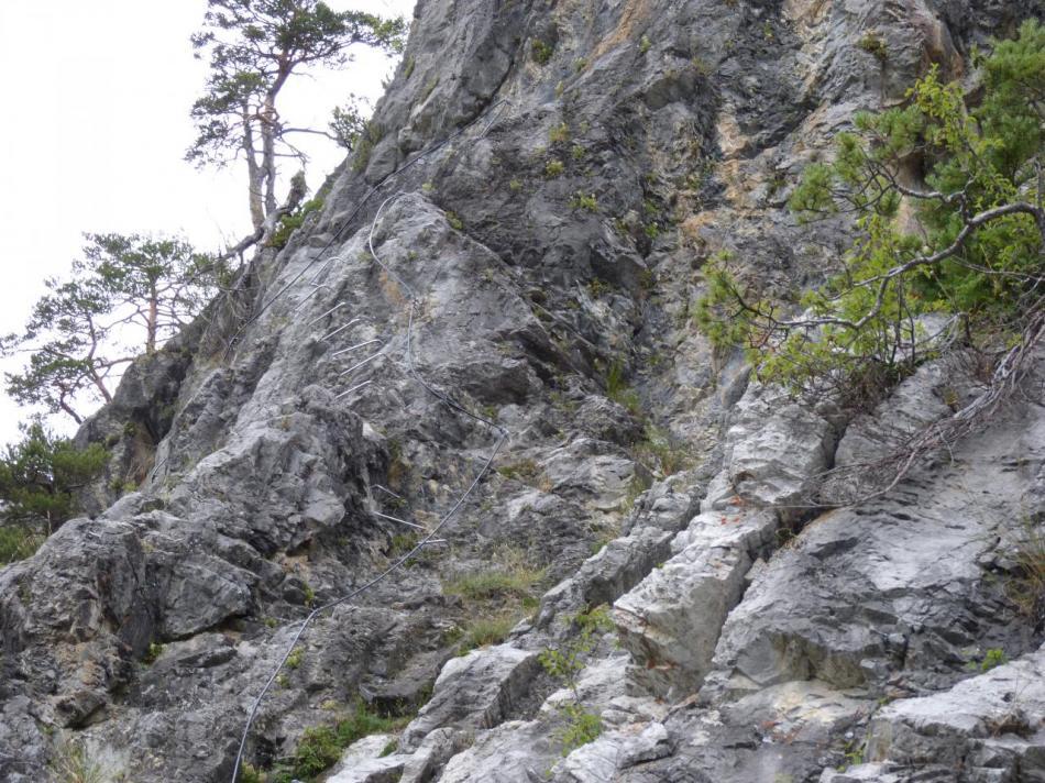 les verticales de la Spalla à Bardonecchia