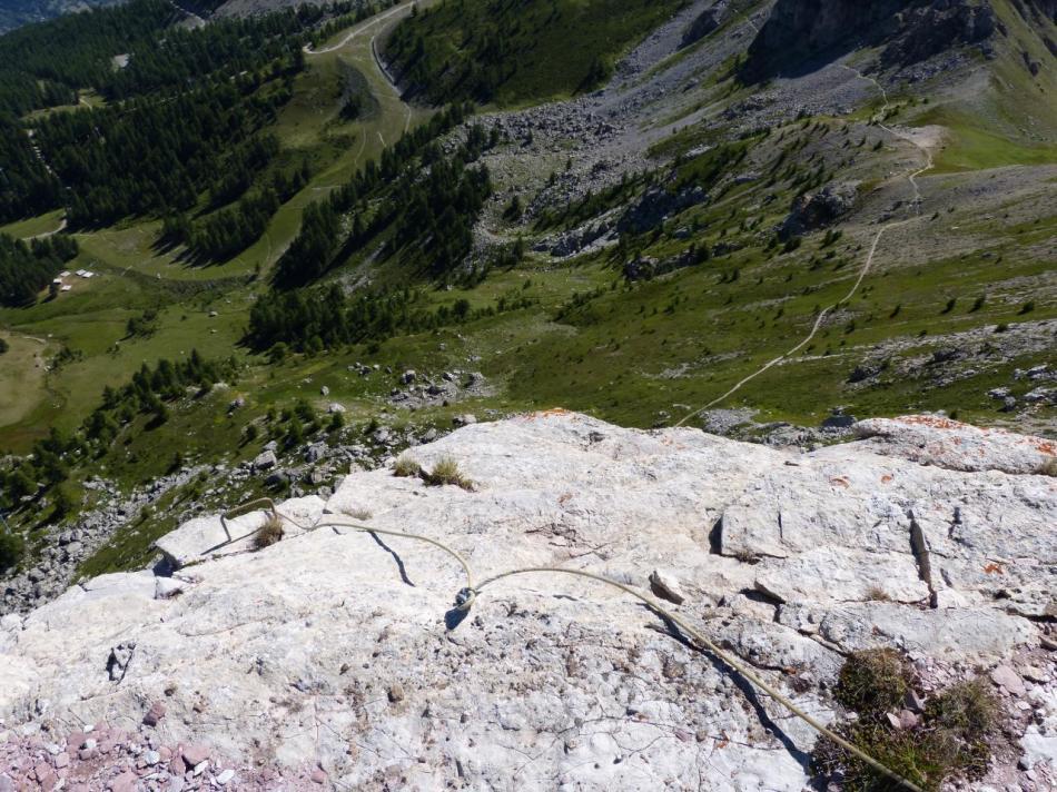 sortie au sommet du rocher blanc