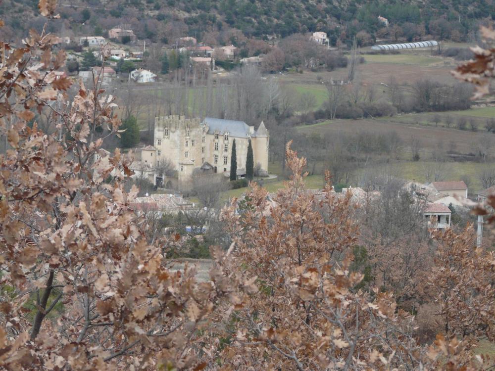 Allemagne en Provence et son château