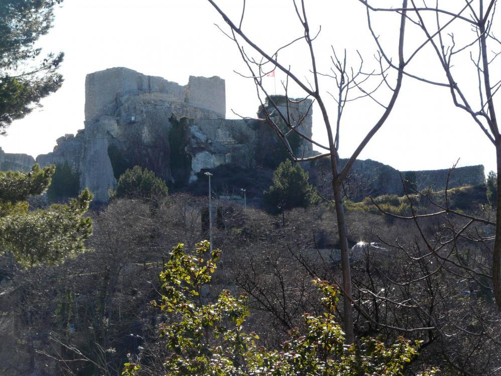 De belles ruines de château également sur le circuit !