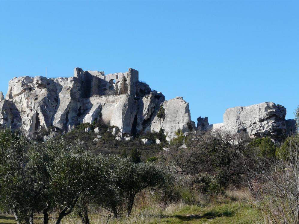 Et bien sûr ... les Baux de Provence !