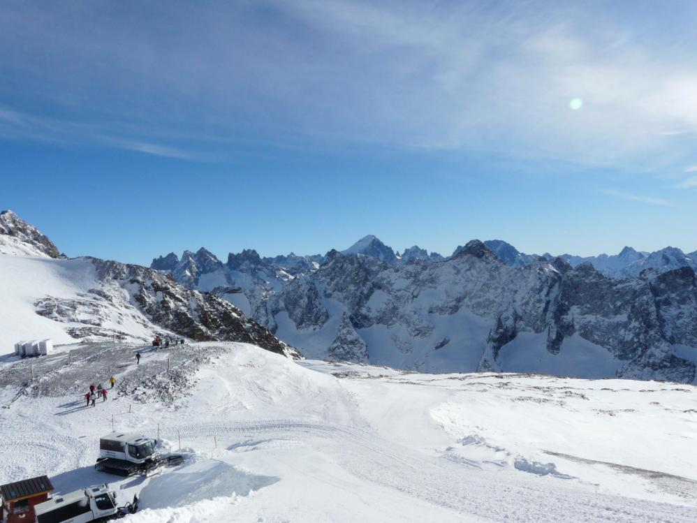Les 2 Alpes en haut