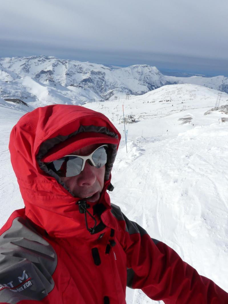 Depuis le glacier aux 2 Alpes