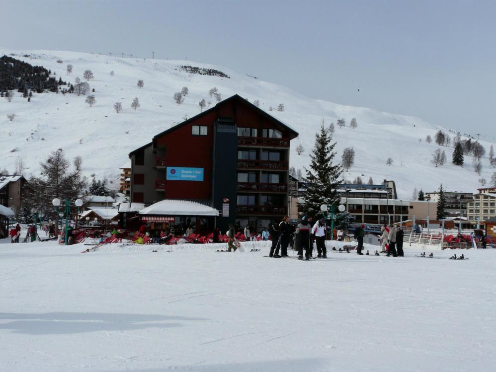 Les 2 Alpes côté station