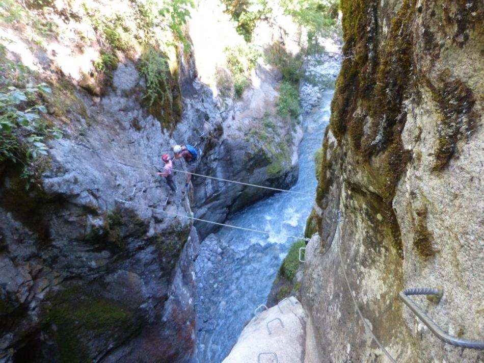 gorges d'Ailefroide (via ferrata)