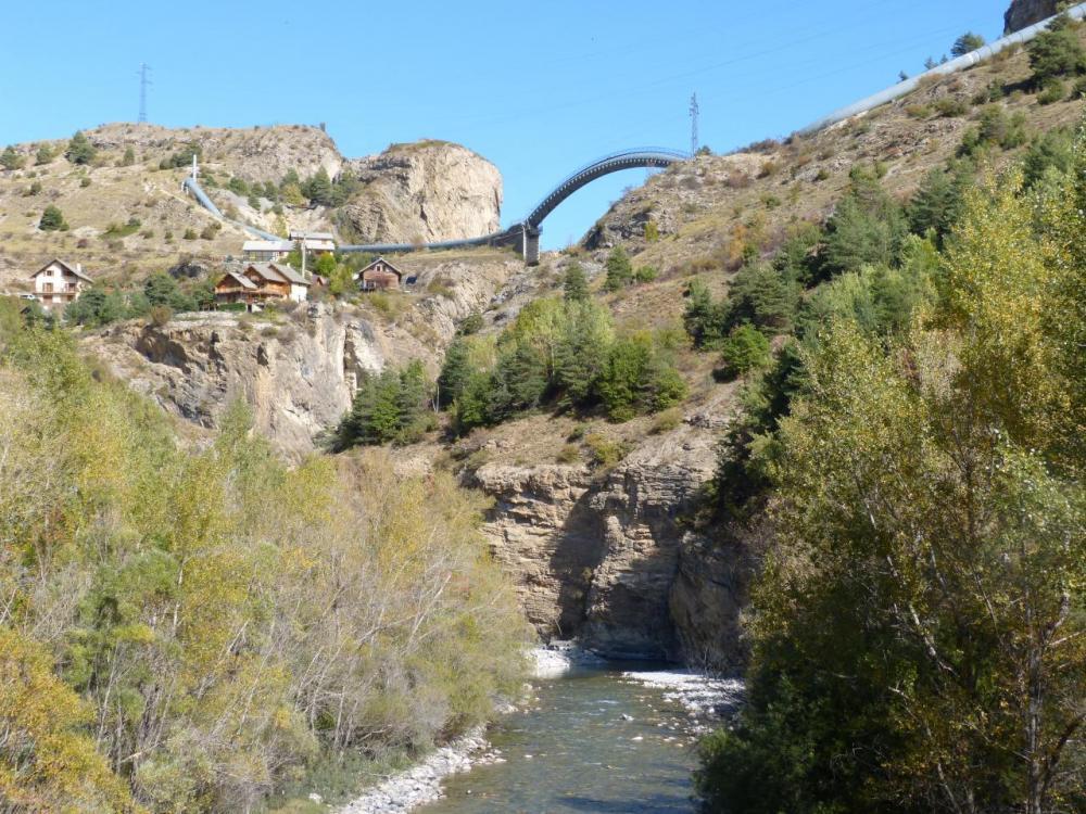 le site de la via ferrata des gorges de la Durance