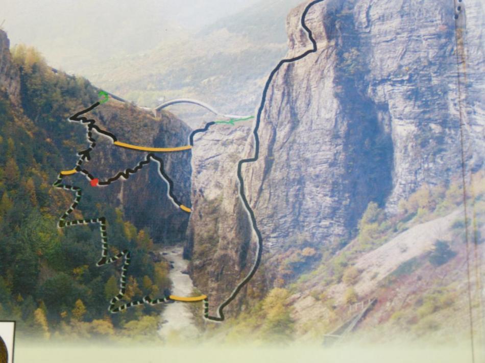 via des gorges de la Durance - le parcours noir (2ème partie)