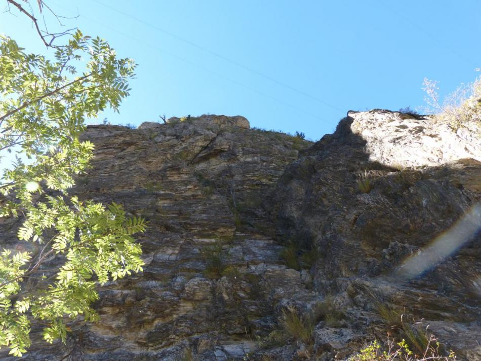 via des gorges de la Durance - belle muraille (2ème partie)