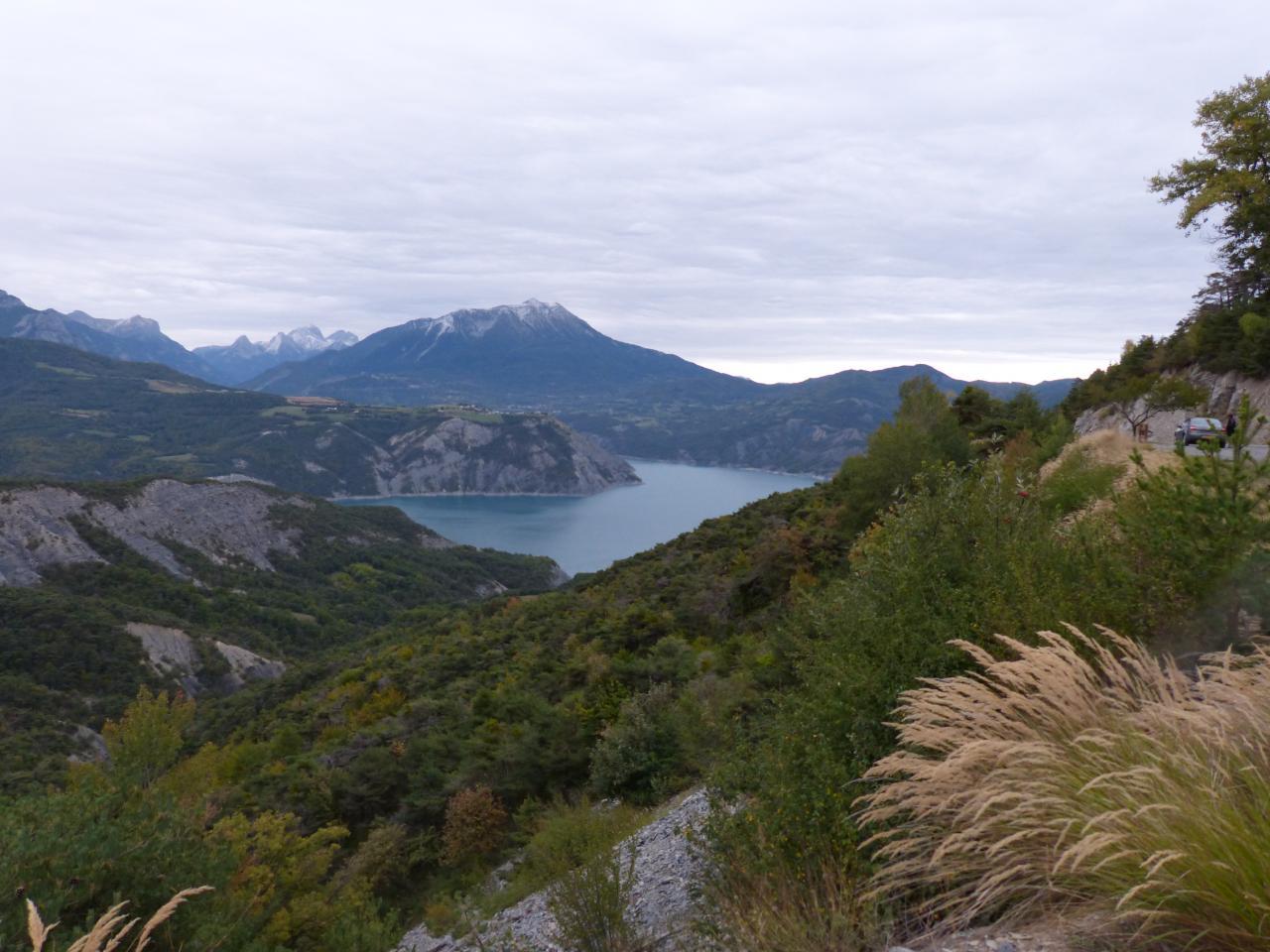 circuit vélo lac de Serre Ponçon Hautes Alpes