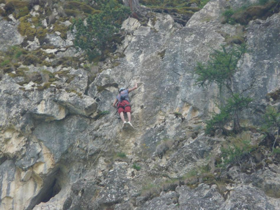 via ferrata de Tournoux