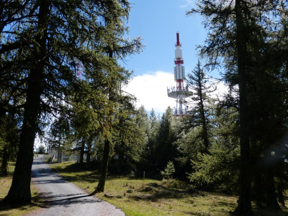 l' antenne du mont Colombis, encore un dernier effort !