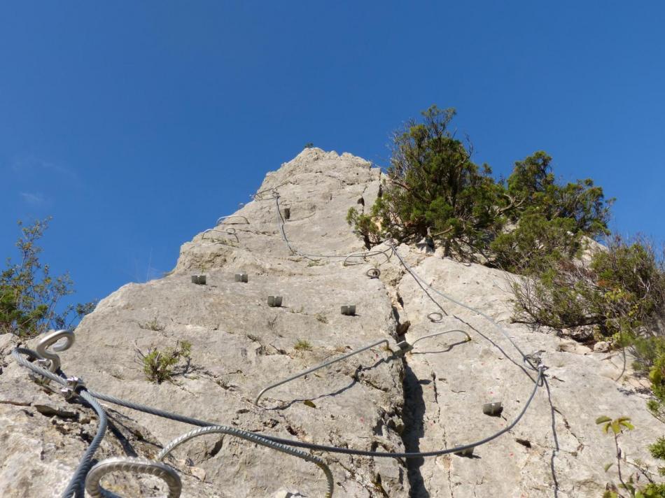 le haut du pilier (la pitchoune à Buis les Baronies)