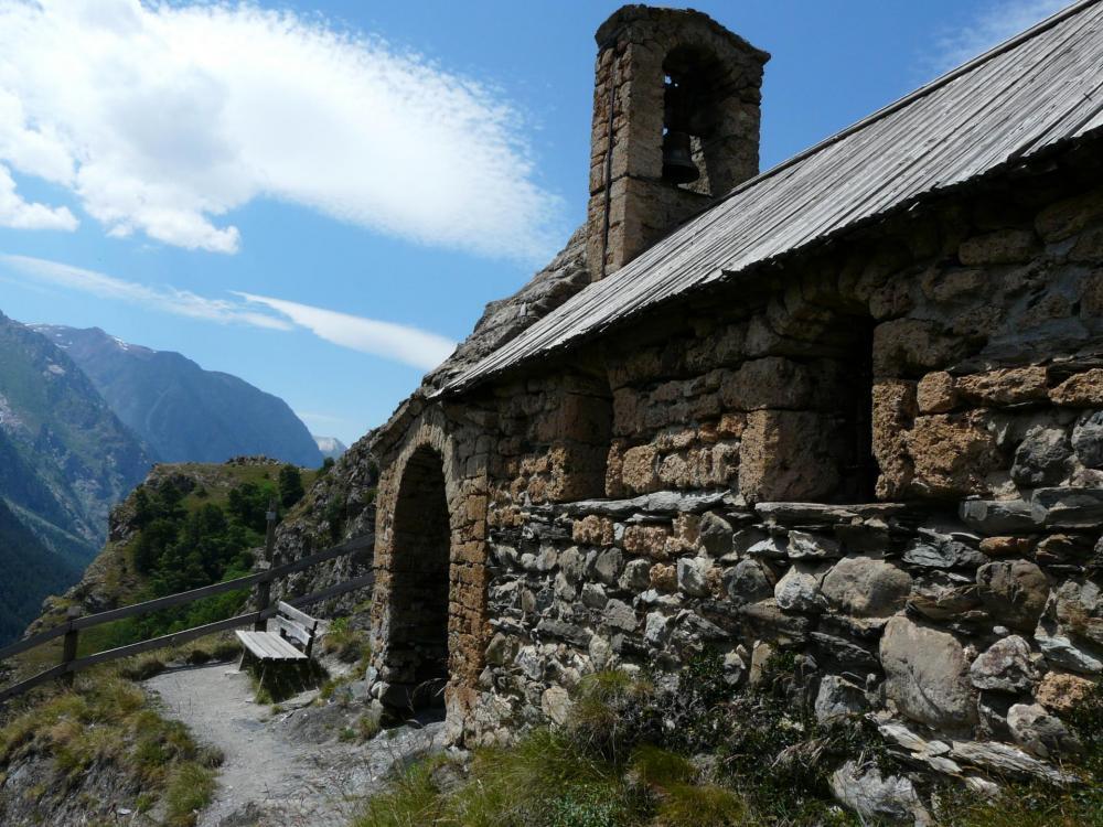 La chapelle de Notre Dame de bon repos