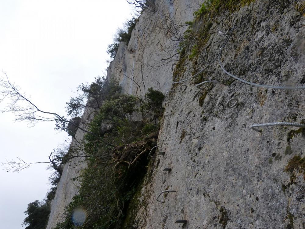 """la Roumpo quièu"" la descente - les derniers mètres !"