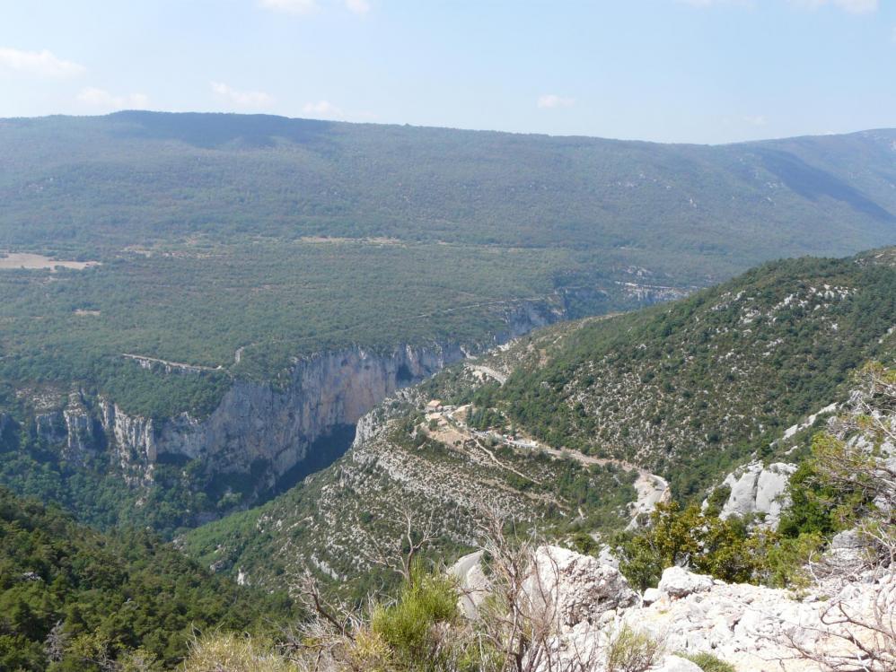 Gorges du Verdon, sur la route des Crêtes