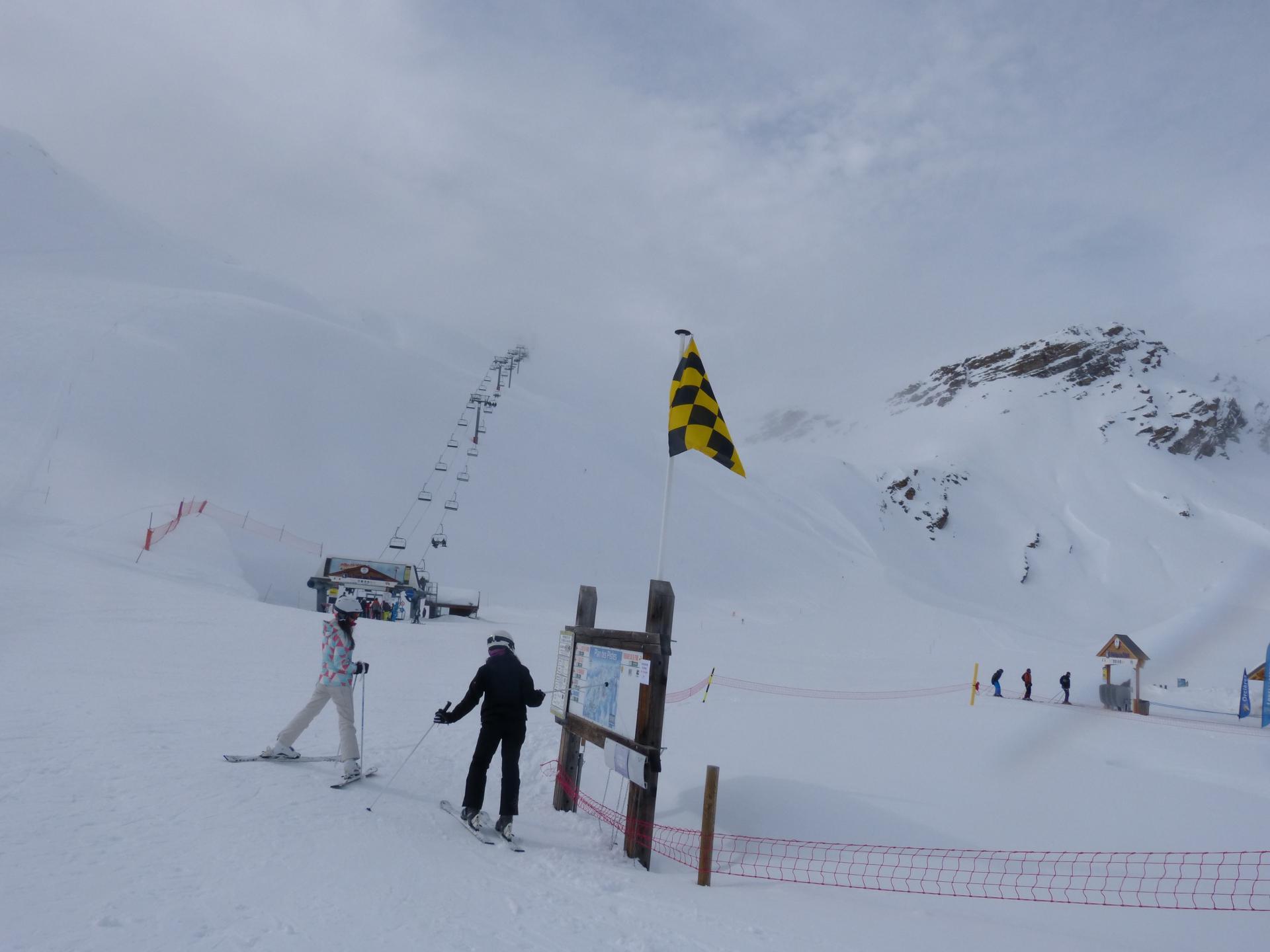 Ski de piste à Orcières Merlette