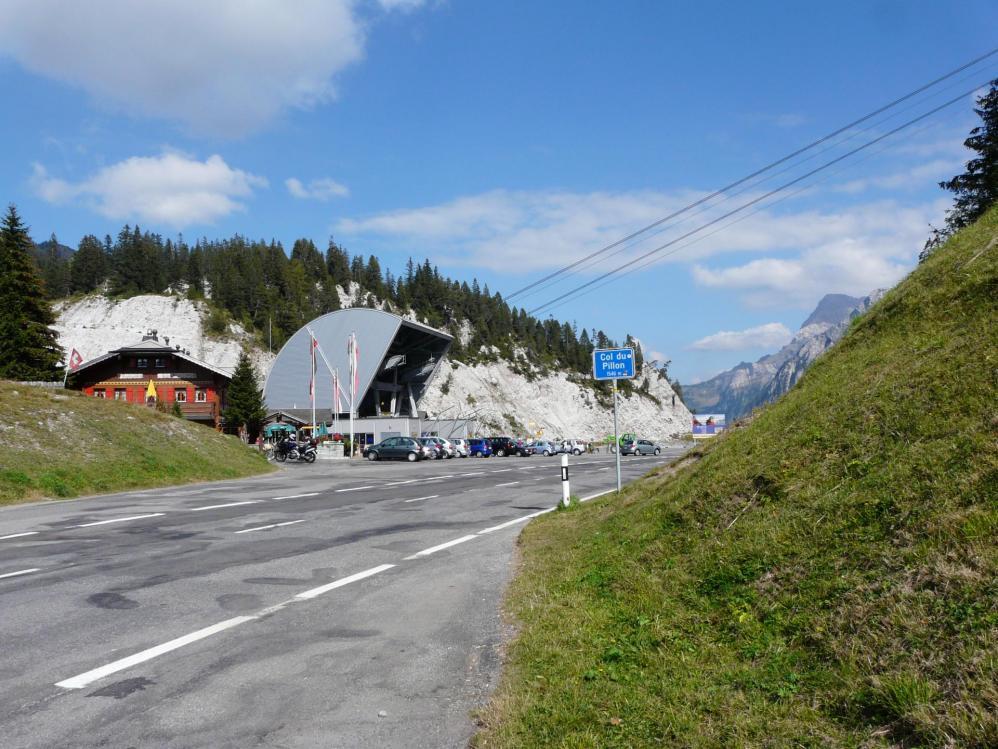Col du Pillon (Glacier 3000 aux Diablerets)