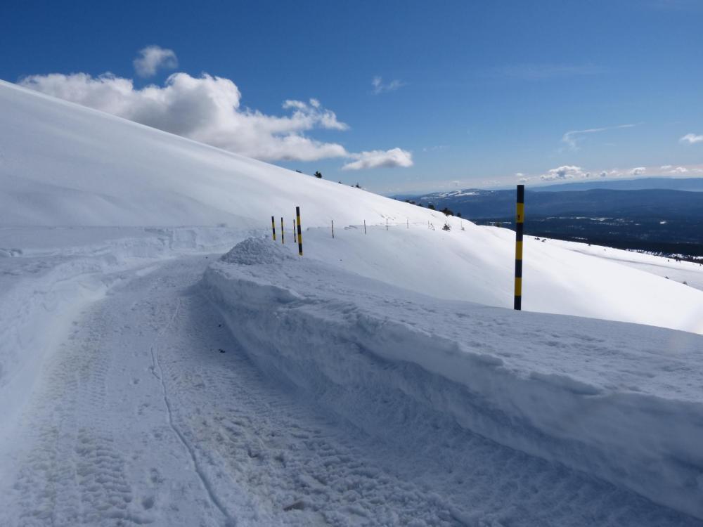 ça se complique ... je suis à 2 km du sommet !