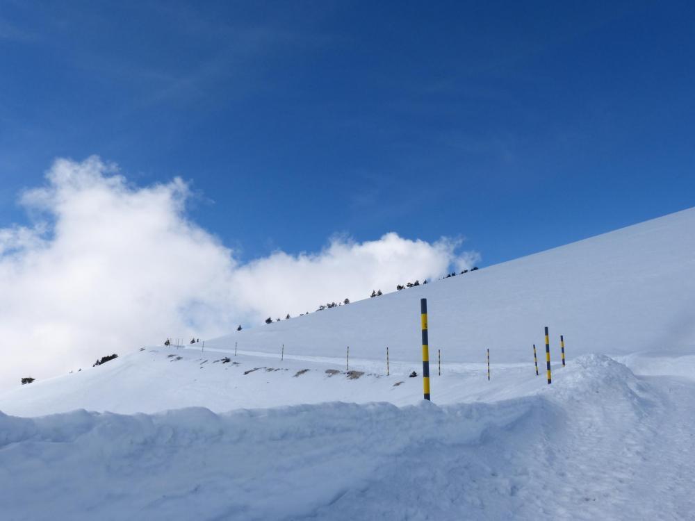 C' est beau le Ventoux sous la neige !