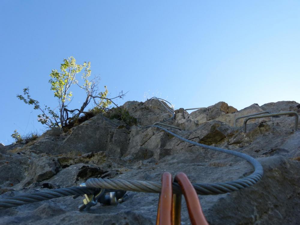 Le haut de la via de Rouanne