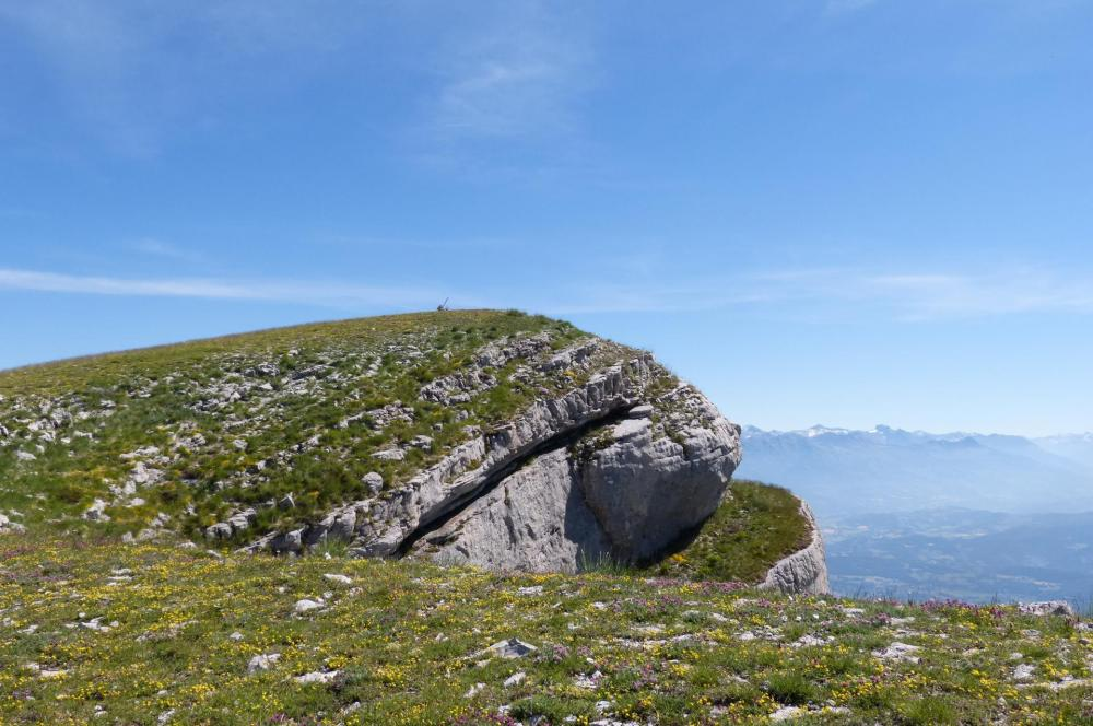 les corniches de la montagne de Céüze