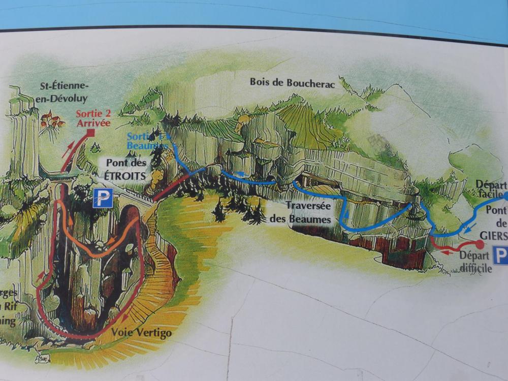 La via ferrata de St Etienne en Dévoluy