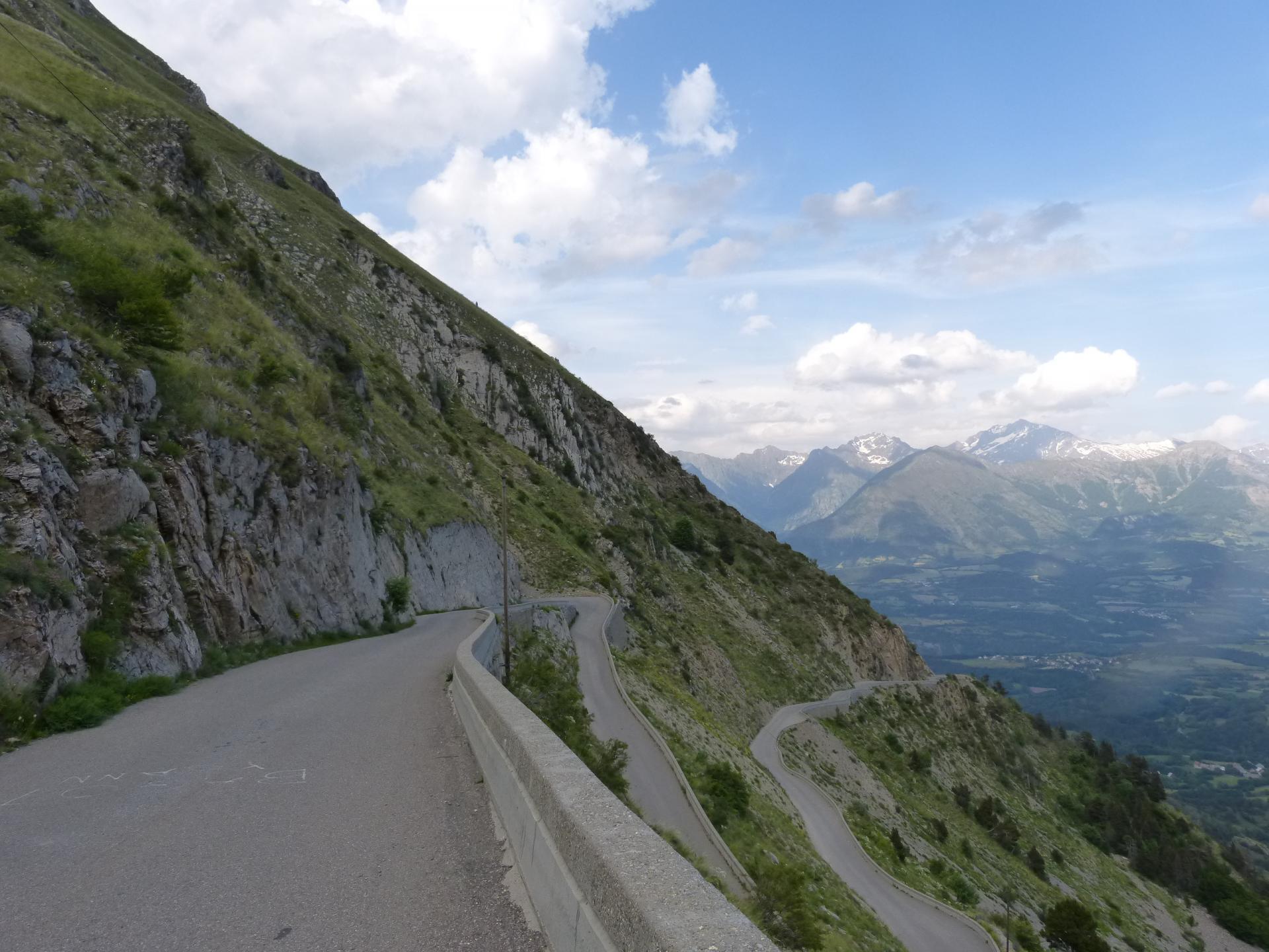 Circuit vélo autour du Faraut / col du Noyer