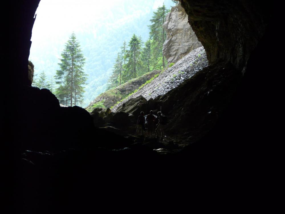 Immense caverne !