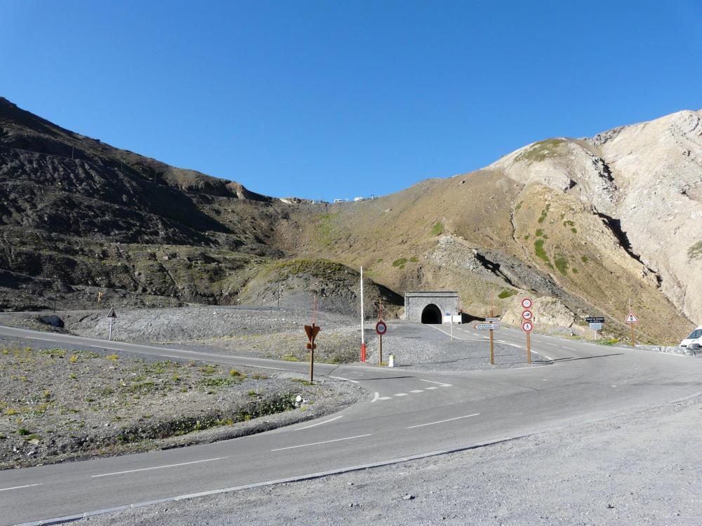 Le tunnel sous le col du Galibier