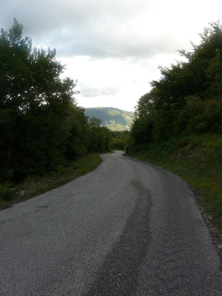 dans la descente du col de la Biche vers Seyssel