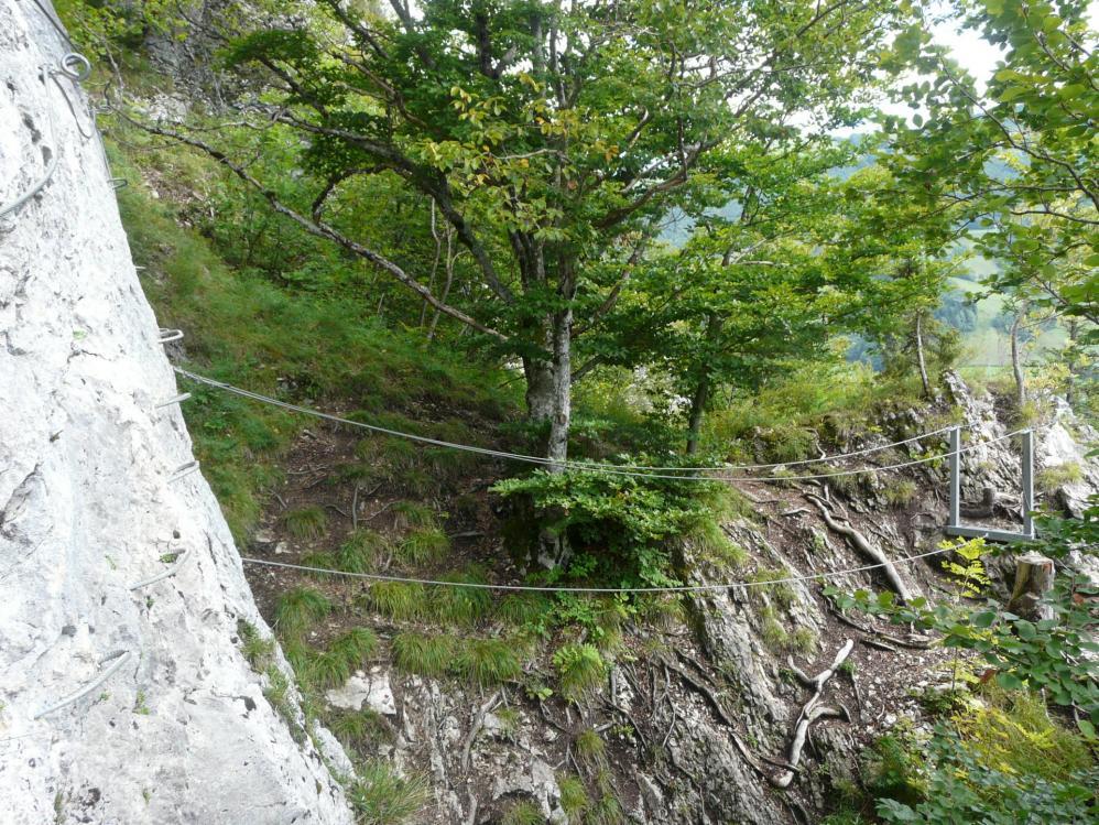 petit pont facile dans la via de Aillon le jeune