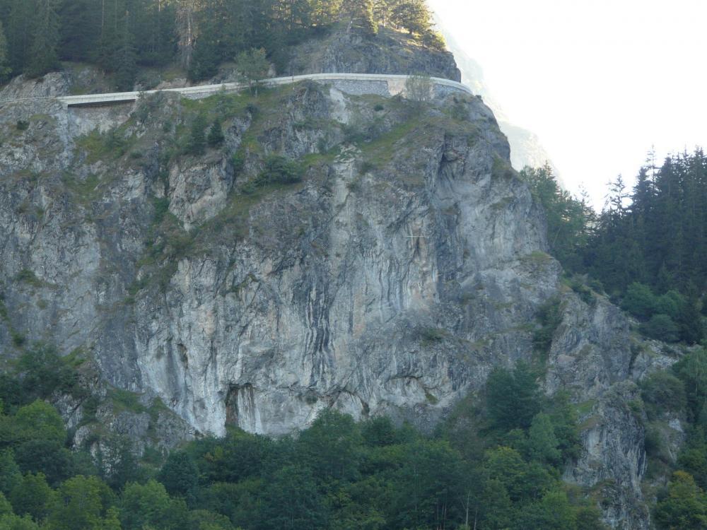Via des grosses pierres à Champagny en vanoise