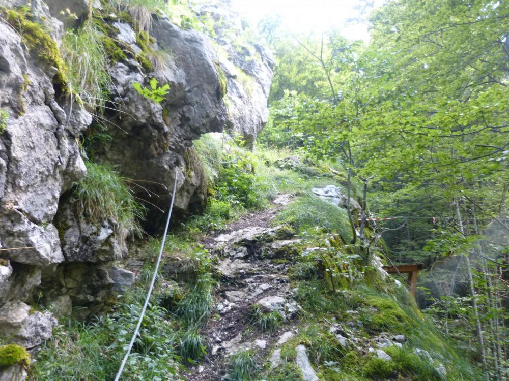 Sortie des vias ferrata du Chatelard et de la grotte de cristal
