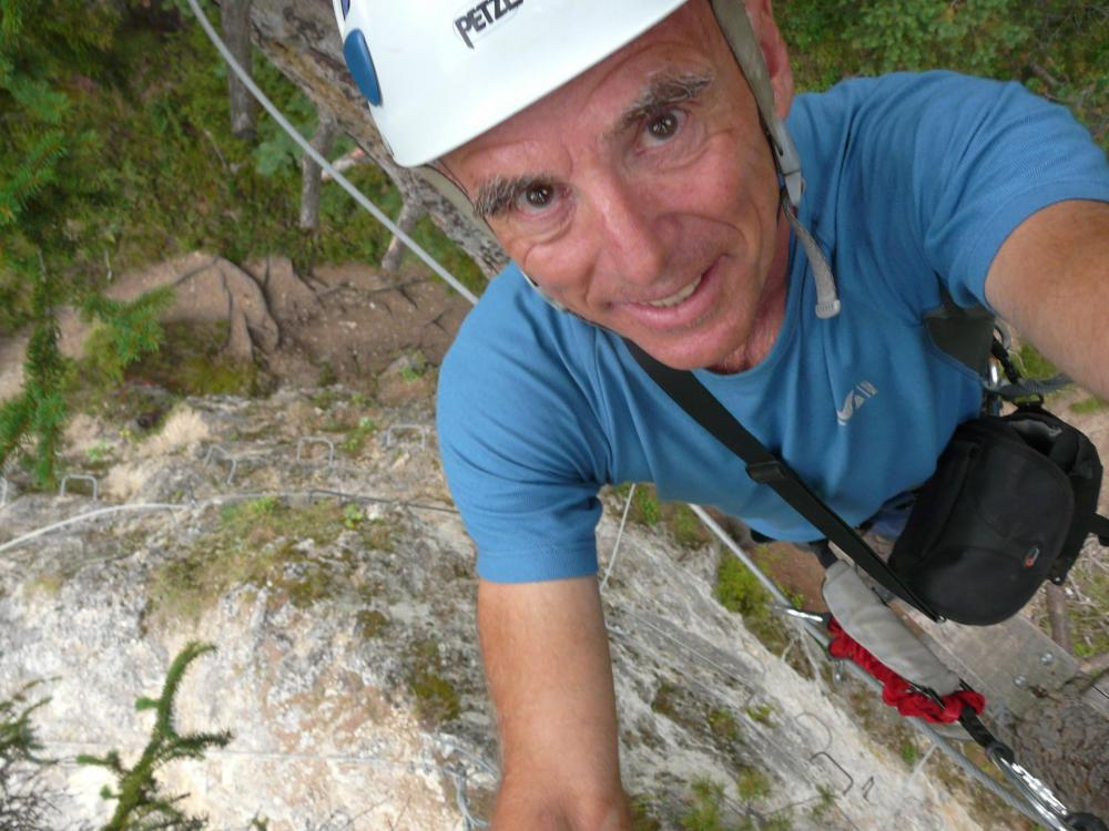 ballade décontractée sur le rocher-via école d' Aussois