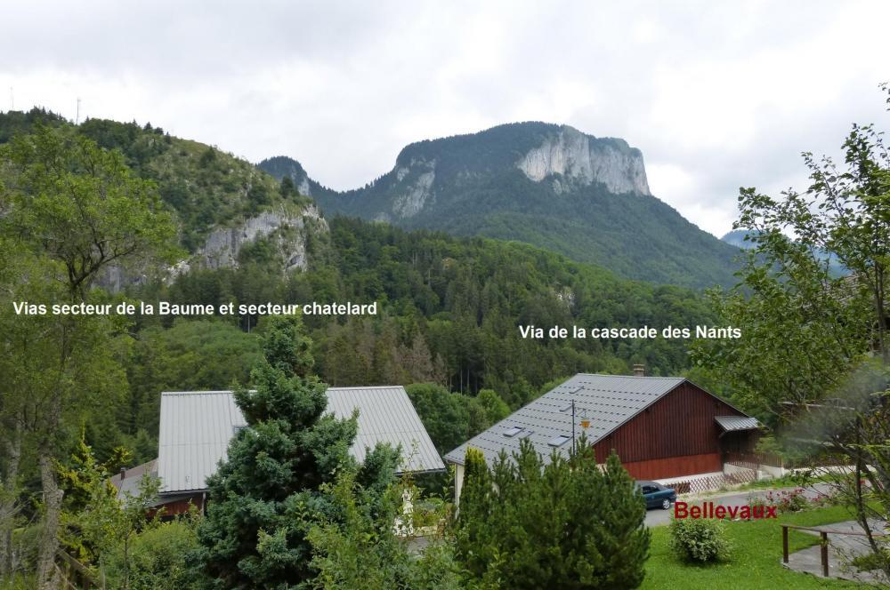 situation des vias de Bellevaux