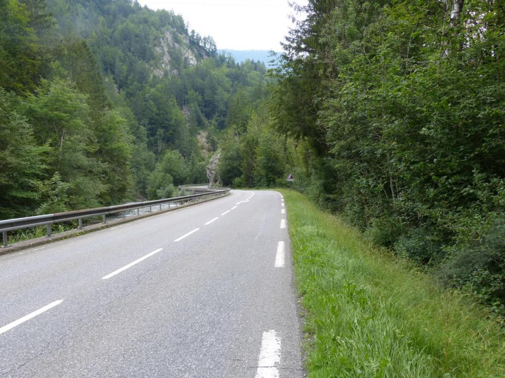 descente de la vallée de la Dranse de Morzine