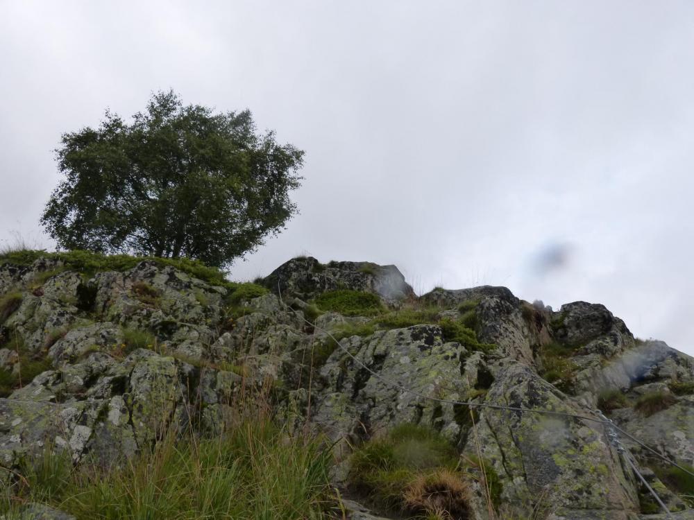 Fin de la via parcours découverte dans les gorges de Sarenne