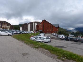 Parking de nuit à l' Alpe d' Huez
